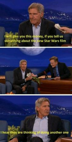 Harrison Ford on The Force Awakens