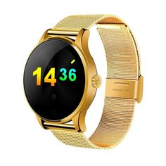 ColMi Bluetooth Smart Watch VS33 Classic Metal Smartwatch With Heart Rate Monitor For Android ISO Phone Remote Camera Clock K88H