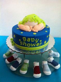 Pastel de baby shower
