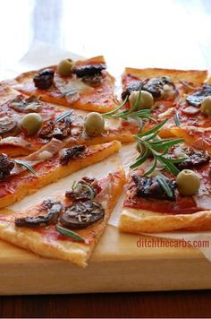 """LC pizza crust... going to try this. They CLAIM I will only want to eat 1-2 pieces versus a whole """"real pizza"""" I am skeptical. We shall see. Will be making mine classic margarita style. :) My favorite."""