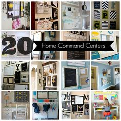 Home Organizing: 20 Home Command Centers