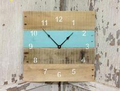 Relógio de parede feito em palete - Seu Móvel de Palete