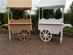 Sweet Carts For Candy Fully Collapsable Wedding Bar Display