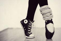 Come si dice, la danza ti porta ad essere per metà normale...ma l'altra metà sarà sempre di ballerina.