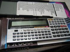 CASIO FX-880P PERSONAL COMPUTER SCIENTIFIC CALCULATOR,LIBRARY 116 | eBay