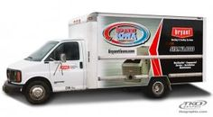 What is the purpose of fleet graphics? Is it to share a message, build brand, send a call to action, or all of the above? Car Wrap, Car Decals, Iowa, Van, Trucks, Graphics, Vehicles, Graphic Design, Car Decal