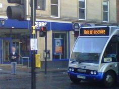 This brilliantly Scottish bus. | If You're British, You'll Truly Understand These 43 Photos