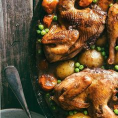 Red Wine-Braised Partridge Wild Game Recipes, Meat Recipes, Fall Recipes, Chicken Recipes, Dinner Recipes, Cooking Games, What's Cooking, Cooking Recipes, Partridge Recipe