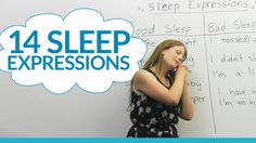 14 English expressions about SLEEP