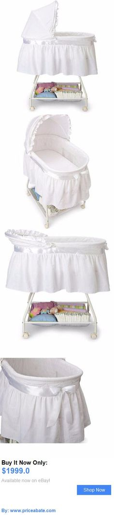 Minimalist Baby Nursery White Bassinet Baby Basket Cradle Crib Nursery Infant Newborn Portable Sleeper BUY IT Minimalist - Fresh portable baby sleeper Lovely