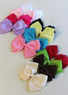 The Hair Bow Company  -  Recently Restocked!   -   Classic Boutique Bow Variety Pack  12 Bows for only $11.99!