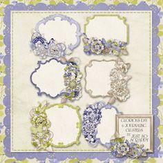 Glorious Day Digital Scrapbook Kit Journal by JssScrapBoutique, $2.99
