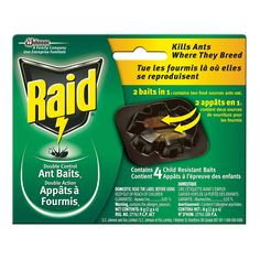 Raid Ant Bait Double Control (4-Pack) | Lowe's Canada