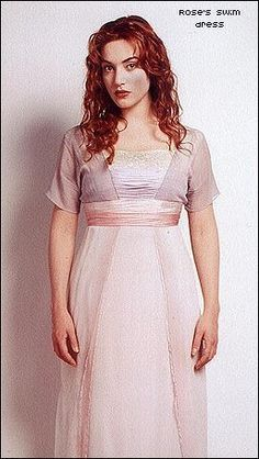 Make it Count - A Titanic Fan Site - How to Make Rose's Swim Dress