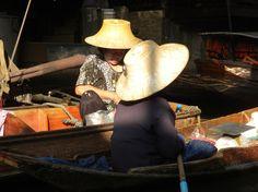 Mercato galleggiante, Bangkok