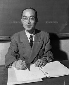 湯川秀樹(yukawa hideki) 理学博士(Doctor of Science)  Nobel Prize in Physics winner in 1949