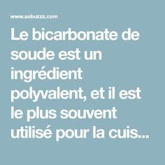 Le bicarbonate de soude est un ingrédient polyvalent, et il est le plus souvent utilisé pour la cuisson et le nettoyage, mais rarement quelqu'un sait qu'il peut également traiter divers maux et aider à perdre du poids.Le bicarbonate de sodium (bicarbonate...