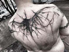 "2,242 Likes, 13 Comments - Inez Janiak (@ineepine) on Instagram: ""#tattrx #darkartists #btattoing #equilattera #inkstinctsubmission #black #tattoo #blackworkers…"""