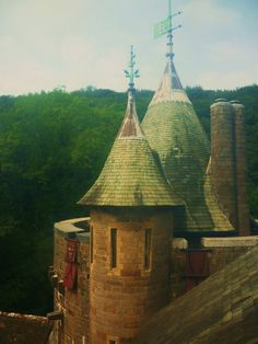 Castell Coch, (Red Castle) Wales.