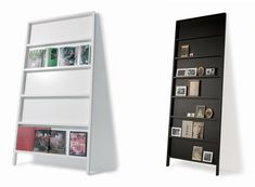 flat bookshelves - great for displaying photos, record albums (remember those?), or books