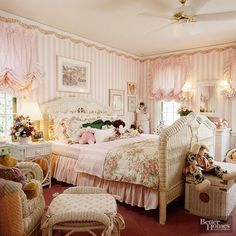 bedroom Want to take a trip down memory lane Grab some Dunkaroos and a CapriSun and reminisce about the glory days of the with us. If any (or all) of these things made an appearance in your childhood home, youre definitely a kid. Vintage Bedroom Decor, Vintage Room, Shabby Chic Bedrooms, Retro Home Decor, Shabby Chic Decor, Cheap Home Decor, Romantic Bedrooms, Pink Bedrooms, Small Bedrooms