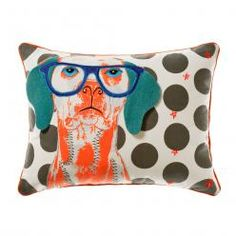 Adairs Kids Animal Cushion Dog, Cushions and soft furnishings from Adairs, discount home accessories