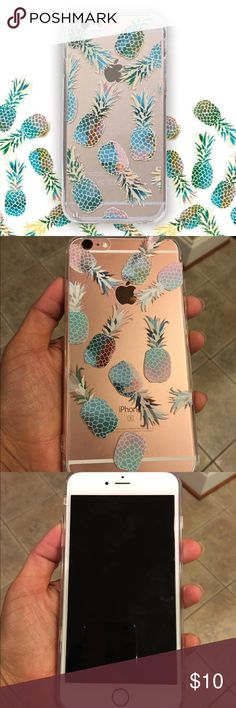 Brand New Pineapple IPhone 6+/ 6s Plus Case Brand new pineapple IPhone case for 6+ / 6s plus. PRICE FIRM Accessories Phone Cases