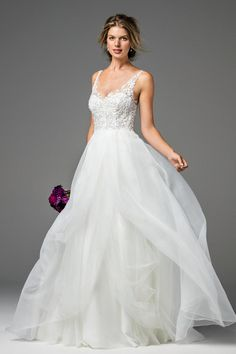 Shop designer bridal gowns like the Sasha Style 18725 dress by Wtoo and other bridal accessories at Blush Bridal. Wtoo Bridal, Blush Bridal, Bridal Gowns, Princess Ball Gowns, Designer Wedding Gowns, Wedding Bridesmaid Dresses, Wedding Attire, Bridal Boutique, Dream Dress
