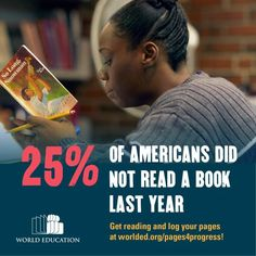 of Americans didn't read a book last year. Get Reading, Education For All, Books To Read, Learning, American, Teaching, Education, Studying