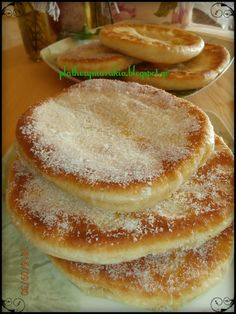 Greek Sweets, Greek Desserts, Greek Recipes, Fun Desserts, Greek Bread, Greek Cake, Food Network Recipes, Food Processor Recipes, Cooking Recipes
