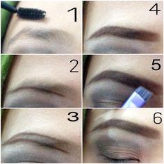 This is how i draw ma eyebrow! Still learning, but i love it. #makeup #makeuplovers #makeupjunkies #makeupdo #eyebrowtutorial #tutorialmakeup
