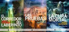 """CRÓNICAS DE UNA POTTERHEAD: RESEÑA TRILOGÍA """"EL CORREDOR DEL LABERINTO"""""""