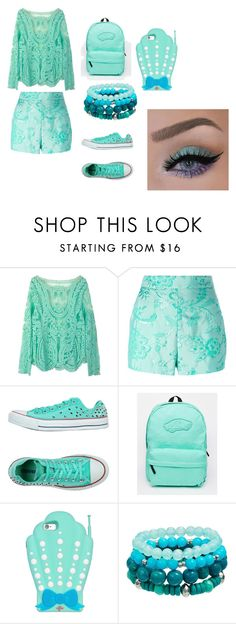 """new chapter"" by bellapaige-clxxi on Polyvore featuring WithChic, Moschino, Converse and Vans"