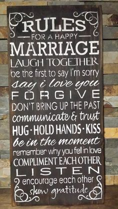 Marriage Sign