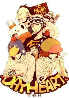 Heart Pirates | One Piece #manga