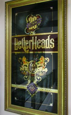 Letterheads Glass Signs « David Smith – Traditional Ornamental Glass Artist