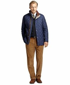 Quilted City Coat - Brooks Brothers