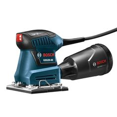 Bosch Sheet Orbital Finishing Sander delivers even sanding and long tool life with a precision-machined aluminum sanding plate. Bosch, Sheet Sander, Best Random Orbital Sander, Finishing Sander, Power Sander, Tool Bench, Plate, Dust Collection