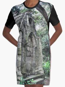 Graveyard Folly Graphic T-Shirt Dress 20% off today use code CARPE20 #redbubble #newfromredbubble #redbubbledress #digiprint #printeddress #print #pattern #patterneddress #graphicdress #graphic #sublimation #dyesublimation #alternative #fashion #ss16 #indie #indiedesign #design #tshirtdress #minidress #women #fashion #newdress #newclothes