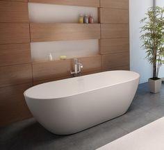 Bath Guido | Solid Surface | Webshop Bad Arsenaal Janine Dongen | Het Arsenaal #bathroom #articles #bathroomdesign #interior #decoration #spa #wellness