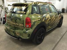Schomp MINI partners with Love Hope Strength | LHS Mini Cooper | Love Hope Strength | Blood Donation | Colorado Charities | Colorado | MINI Mods | Miniac | Wrapped MINI | Schomp MINI partnerships | MINI Art Cars | Custom MINI Cooper | custom car | an original @Schomp MINI pin