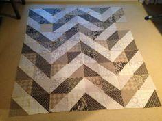 I love half square triangles