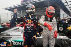 Michael Schumacher, Sebastian Vettel, Red Bull, Mercedes Grand Prix, 2012 Brazilian Formula 1 Grand Prix, Formula 1