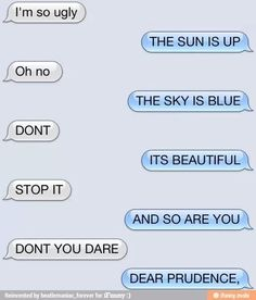Dear prudence, won't you come out to play?