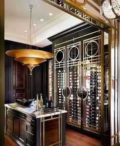 Luxury home bar design ideas Luxury Homes Interior, Luxury Home Decor, Best Interior, Interior Architecture, Elegant Home Decor, Elegant Homes, Interior Design Services, Home Interior Design, Cave A Vin Design