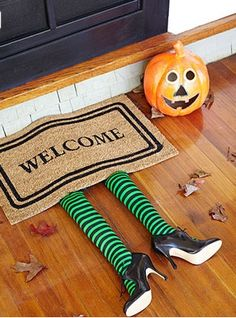 a witchy welcome