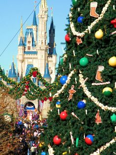 One day I'll get to see Disney World at Christmastime.