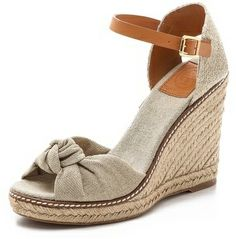 6ad84a1bf9a6 Tory Burch Macy High Wedge Espadrilles on shopstyle.com Pretty Shoes