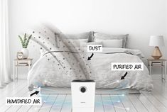 Simplicity of operation and maintenance are what define the air washer. Humidifier, Washer, Blanket, Bed, Stream Bed, Humidifiers, Washing Machine, Rug, Blankets