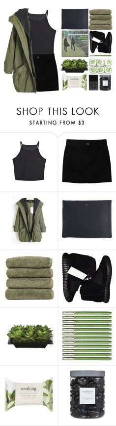 """""""take my hand and we will shine"""" by daisiesxflowers ❤ liked on Polyvore featuring Uniqlo, Arts & Science, Linum Home Textiles, adidas Originals, Lux-Art Silks, Forever 21, Threshold and royaltyset"""